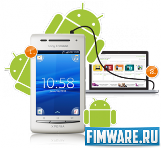 Прошивка для Sony Ericsson Xperia X8 с Android 2.3....