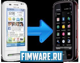 Прошивка Nokia 5800 (RM-356) на основе порта C6 V20...