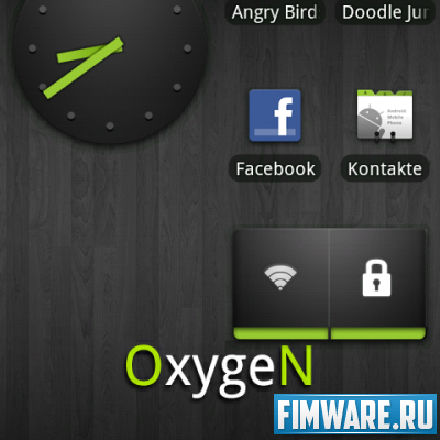 Прошивка HTC Desire, Oxygen 2.0.3