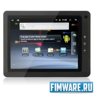 Прошивка Android 0.3.3 интересах Herotab MID816 v 001