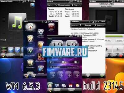 WM 6.5.3 (Build 23145) Manila 2.5 Sense для Gigabyt...