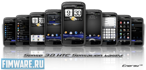 Прошивка Android 2.3.5 HTC HD2 Energy Sense 3.0 Off...