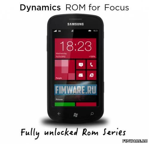 Dynamics v2.0 для Samsung Focus