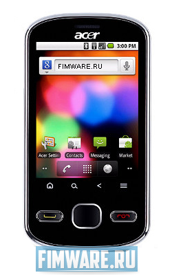 Прошивка для Acer beTouch E140 Android 2.2, RUS